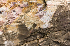 Surface of the stone Stock Photography