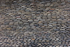 The surface of the stone wall background. The surface of the stone wall texture Stock Photography