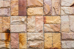 Surface of the stone wall texture background Royalty Free Stock Photo