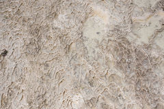 Surface of stone and water. Surface in Pamukkale of stone and water royalty free stock images
