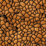 Surface stones abstract seamless texture Stock Images