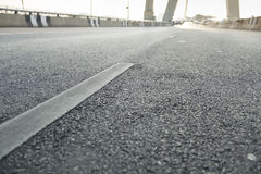 Surface street traffic Stock Photography