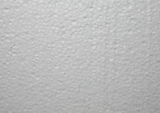 Surface structure of a polystyrene plate Stock Photography