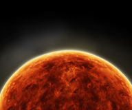 Surface of the Sun.Solar Atmosphere Stock Photo
