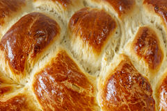 Surface of sweet braided bread Stock Photography