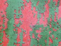 The surface texture of the old metal fence Stock Photos