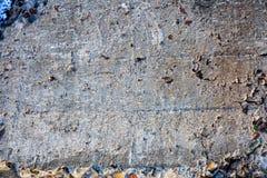Surface texturisée du béton Image libre de droits