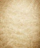 Surface texturisée fanée d'or Photos stock