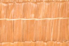 Surface thatch roof leaf vintage style ancient background with copy space add text.  Stock Images