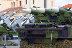 Surface-to-air missile systems Royalty Free Stock Photos
