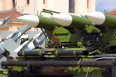 Surface-to-air missile systems Royalty Free Stock Photography