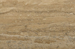 Surface of the travertine. Stock Images