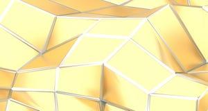 Surface triangulée de résumé basse poly Illustration Libre de Droits