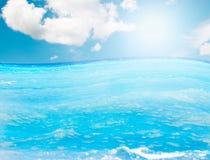 surface vatten Royaltyfri Fotografi