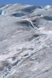 surface vattenfall för glaciär Arkivbilder