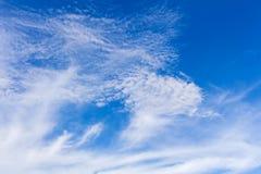 Surface vide de ciel avec petit Image stock
