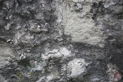 The surface of the wall with peeling paint Stock Image