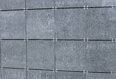 The surface of the walls decorated facade tiles Stock Images