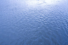 Surface of water. In the sea Stock Photography