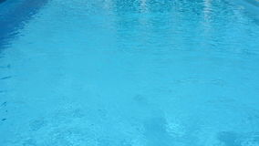 Surface of water in the pool. stock footage