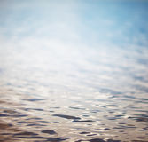 Surface water in the sunrise time Stock Images