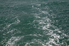 Surface water texture, sea surface water with many waves ocean royalty free stock photos