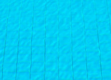 Surface water under sunshine in swimming pool Stock Photo