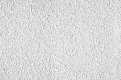 Surface of white wall-paper Stock Images