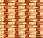 Surface of a wicker basket. Seamless texture vector illustration