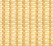 Surface of a wicker basket. Seamless texture stock illustration