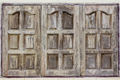 Surface of windows from wood royalty free stock photography