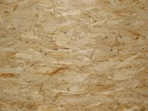 The surface of wood chipboard Royalty Free Stock Photo