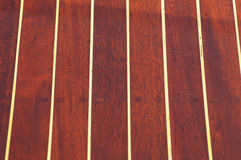 Surface of a wooden boat - pattern / background Stock Photography