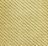 Surface of yellow carpet coverage Stock Images