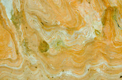 Surface of yellow stone Stock Images