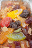 surface of yummy fruit cake Stock Images