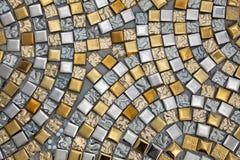 Surfaces d'argent et d'or images libres de droits