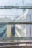 Surfaces en verre Photos libres de droits
