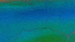 Surfage de Conkrete Fond coloré Texture de conception Bleu et vert lumineux images stock