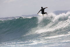 Surfar Imagens de Stock Royalty Free