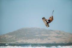 Surfar do papagaio Fotos de Stock