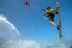 Surfar do papagaio Imagens de Stock Royalty Free