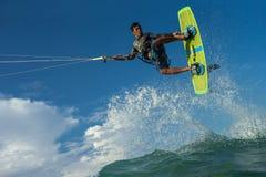Surfar do papagaio Fotos de Stock Royalty Free