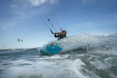 Surfar do papagaio Fotografia de Stock Royalty Free
