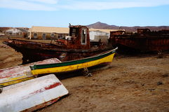 Surfar em África Fotografia de Stock Royalty Free