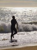 Surfar em Barcelona Imagens de Stock Royalty Free