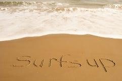 Surfar upp Royaltyfri Fotografi