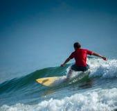 Surfare på det korta brädet Royaltyfri Foto