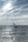 Surfare på Nordsjön Arkivbild