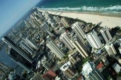 surfarear för paradis för Australien kustguld Arkivfoto